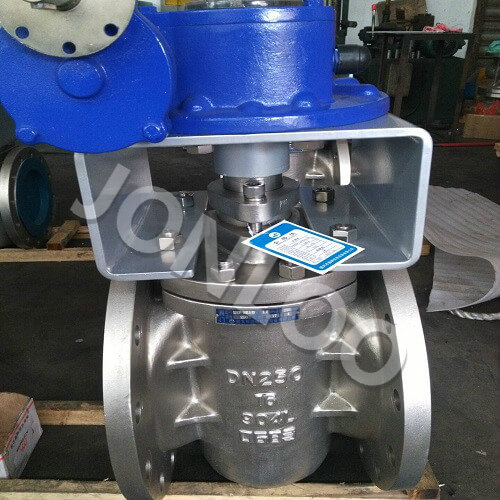 Stainless Steel Sleeved Plug Valve DN250 PN16 SS904L