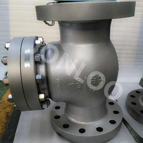 Stainless Steel Check Valve Swing Type 8 Inch 600LB RF