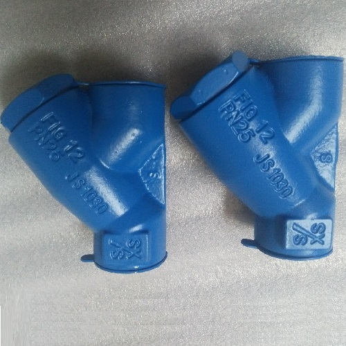 Spirax Sarco Strainer Y Type Strainer NPT Cast Iron  Material SS Screen PN 25