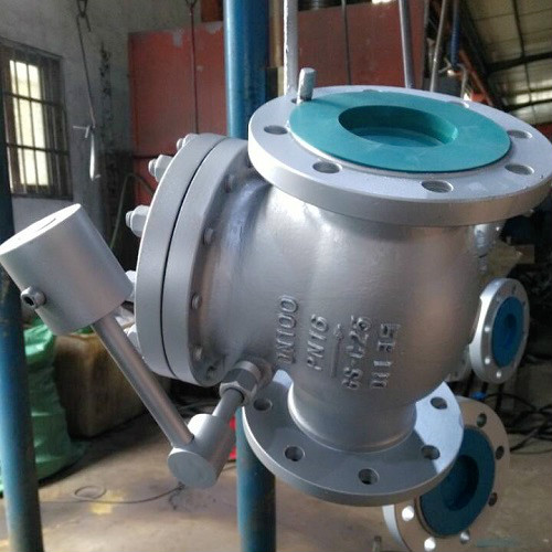 Swing Check Valve with Lever and Counter Weight