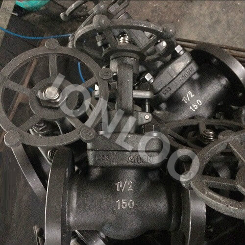 A105 Globe Valve Flanged Ends Bolted Bonnet