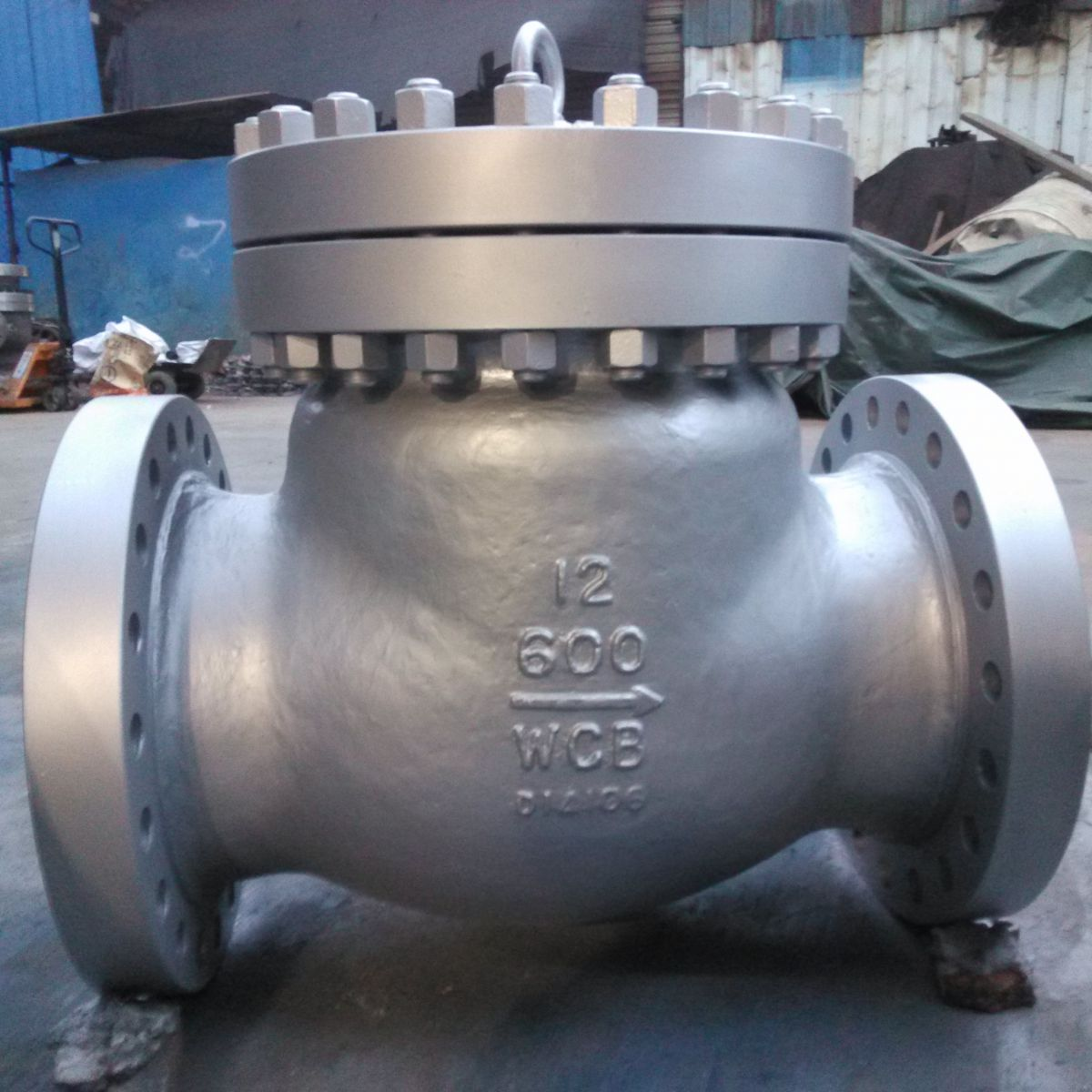 A216 WCB High Pressure Check Valve 12 Inch 600 LB Swing Type