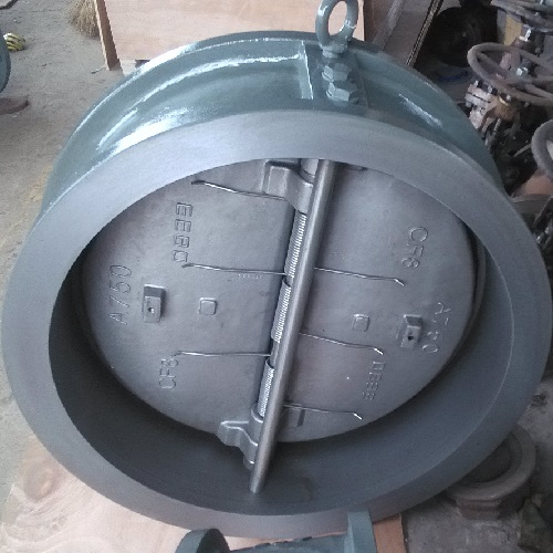 A216 WCB Wafer Check Valve 8 Inch 150 LB Spring Loaded