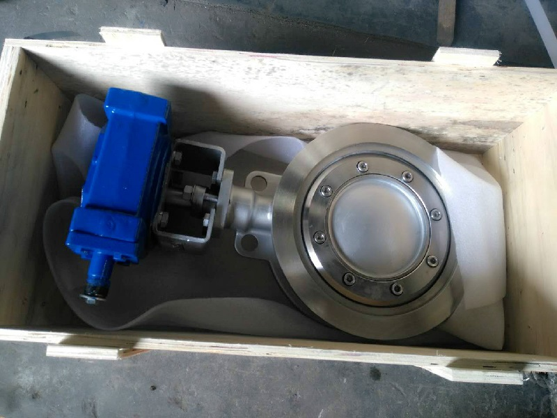 A890 4A DUPLEX STAINLESS STEEL BUTTERFLY VALVE FOR UK CLIENT