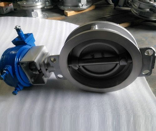 A890 4A DUPLEX STAINLESS STEEL BUTTERFLY VALVE WAFER TYPE 10 INCH 150 LB