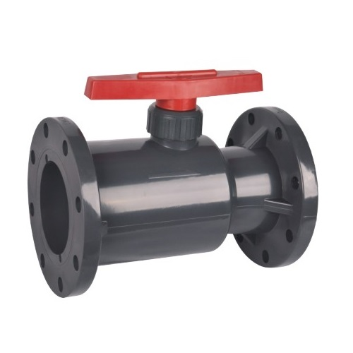 Best Quality UPVC Flanged Ball Valve Industrial Plastic Valves