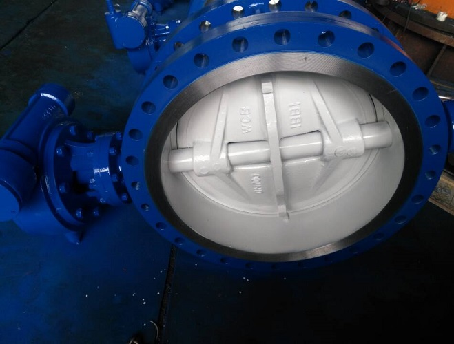 Butterfly Valve Bidirectional Design Triple Eccentric 150 LB A216 WCB 28 inch