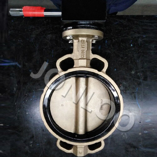 Butterfly Valve150 LB Ni-Aluminium Bronze Body and Disc EPDM Seat