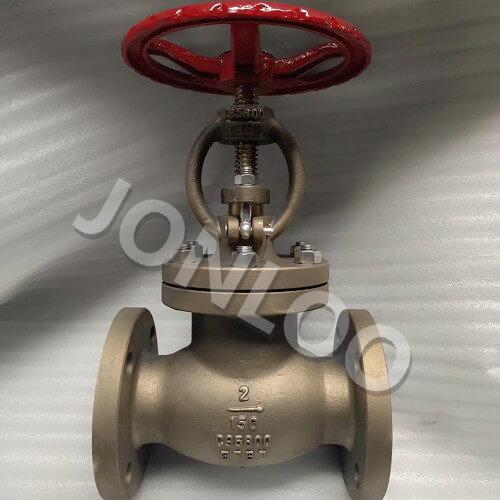 Bronze Globe Valve ASTM B62 C95800 2 INCH 150LB