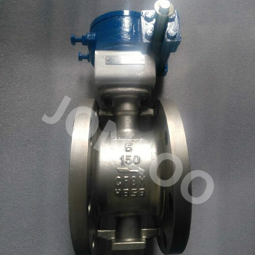 Butterfly Valve 5 Inch 150 LB Double Flanged End  A351 CF8M