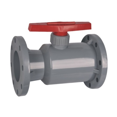 CPVC Flanged Ball Valve