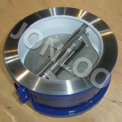 Dual Plate Check Valve Wafer Type Spring Loaded 6 Inch 150 LB