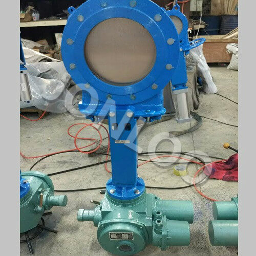 Electric Actuated Knife Gate Valve Jonloo Knife Gate