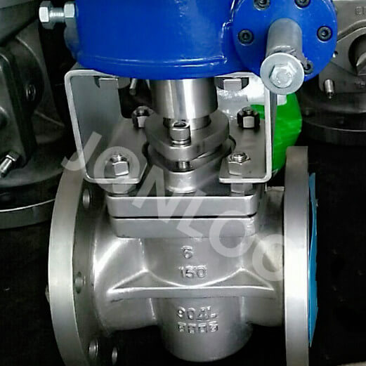 Flanged Plug Valve SS904L Material 6 Inch 150 LB PTFE Sleeve