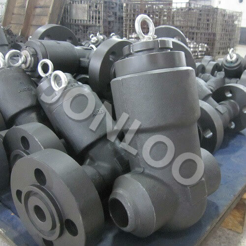 Forged Steel Check Valve Pressure Seal Bonnet 2500 LB A105