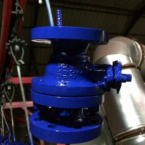 Full Port Ball Valve 4 inch 300 LB A216 WCB API 6D