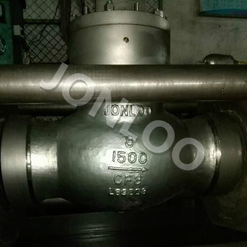 High Pressure Globe Valve Pressure Seal Bonnet 1500LB 8 INCH