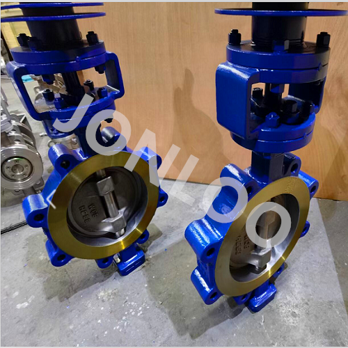 High Performance Butterfly Valve WC6 Material for Temperature 500℃