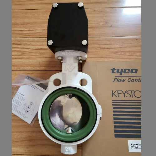 Keystone Butterfly Valve With Pneumatic Actuator F990 Type