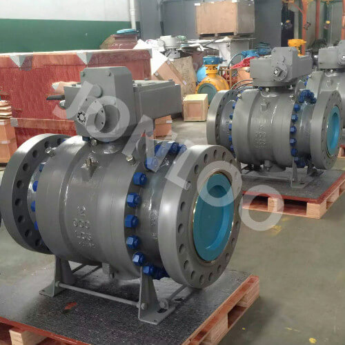 Carbon Steel Ball Valve LC3 Material for Low Temperature Service