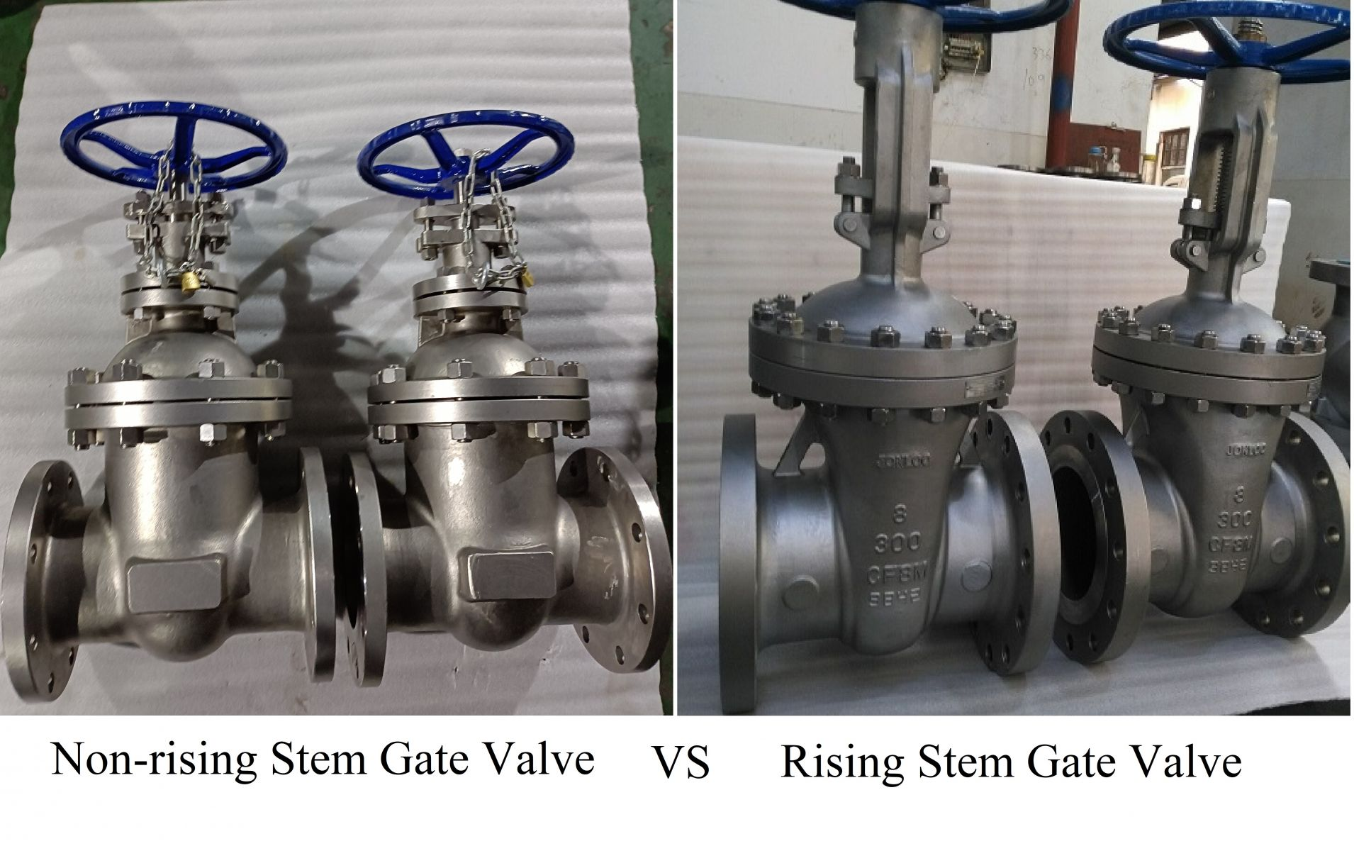 The Differences between Gate Valves with Rising Stem and Non-rising Stem