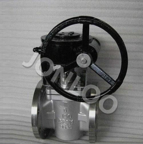 PTFE Sleeved Plug Valve CF8M 6 INCH 150 LB API 599