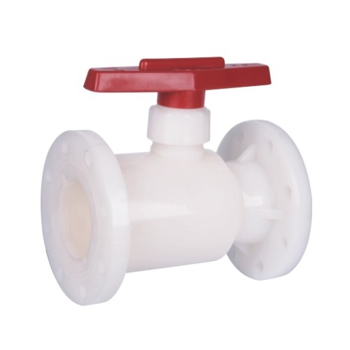 PVDF Flanged Ball Valve