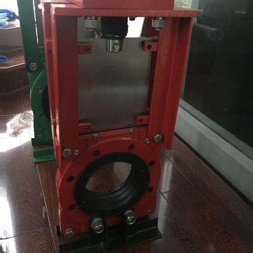 Slurry Knife Gate Valve With Pneumatic Actuator For Mining Industry Heavy Duty