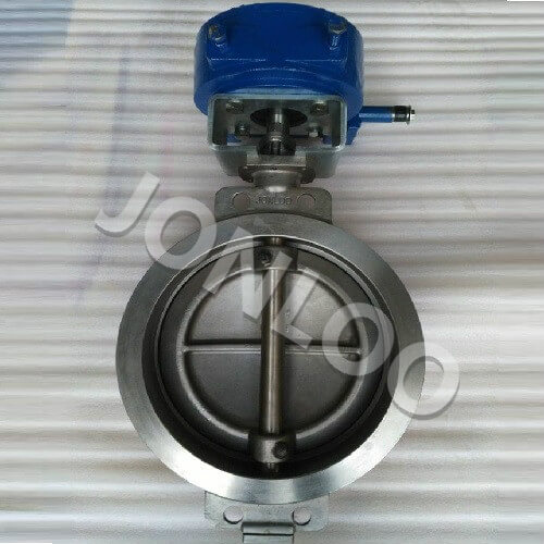 Stainless Butterfly Valve Wafer Type Triple Eccentric DIN Standard