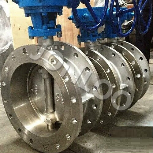 Stainless Steel Butterfly Valve 8 inch 300 LB Double Flanged