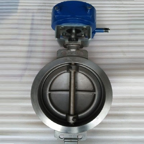 Stainless Steel Butterfly Valve Wafer Type Triple Eccentric A351 CF3M DIN Standard
