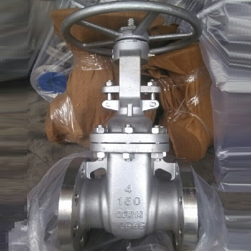 Stainless Steel Gate Valve 4 inch 150 LB RF A351 CF8M With Hand wheel