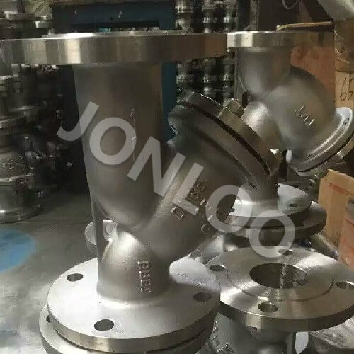 Stainless Steel Y Strainer 3 inch 150 LB A351 CF8M RF