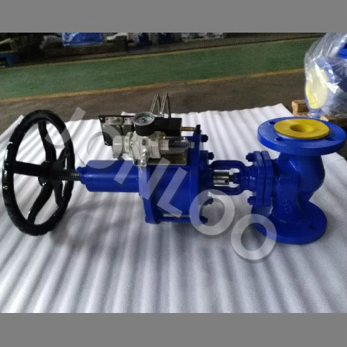 Steam Valve with Bellows 4 Inch PN 16 Pneumatic Actuator