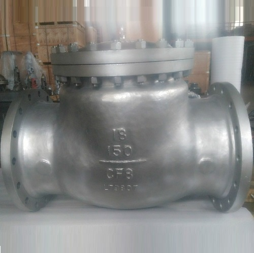 SWING CHECK VALVE 18 INCH 150LB  DELIVERED TO USA