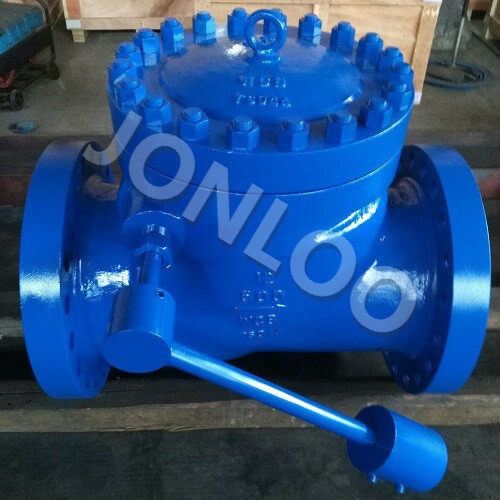 Swing Type Lever And Weight Check Valve 12 Inch 600 LB A216 WCB