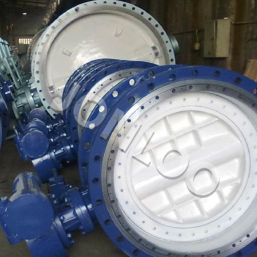 Triple Offset Butterfly Valve Flange Type 12 inch 150 LB A216 WCB