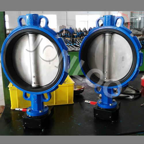 Concentric Wafer Type Butterfly Valve A536-65 Body 12 inch 150LB