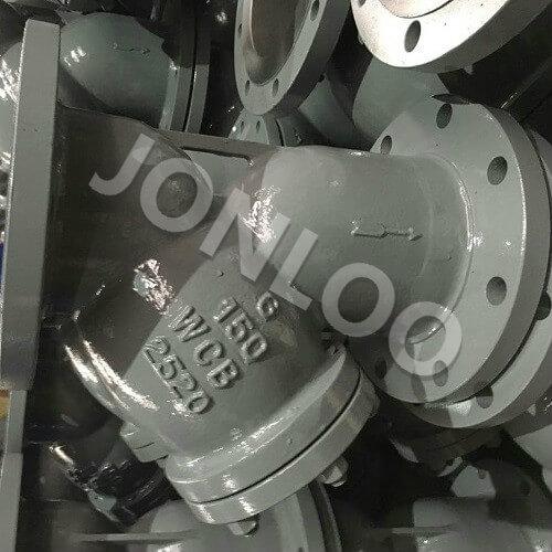 Y Strainer Valve 6 inch 150LB  A216 WCB RF
