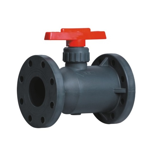 Best Quality RPP Flanged Ball Valve Chemical Valve Plastic Valve