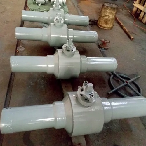 Butt Welded Ball Valve 3 inch 300LB A105 RF
