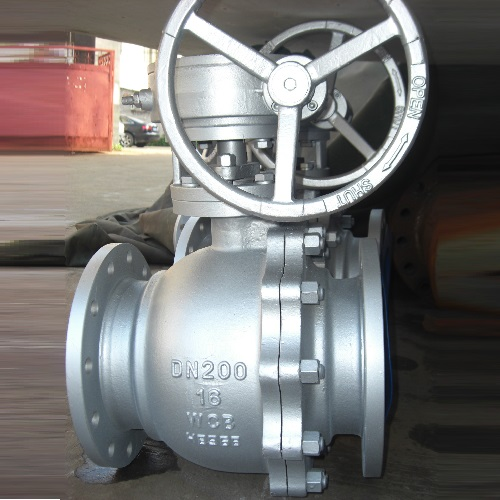 DIN Ball Valve DN 200mm PN16 GS-C25 DIN 3357