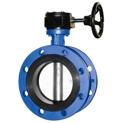 Flanged Butterfly Valve 12 inch Ductile Iron Rubber Seat