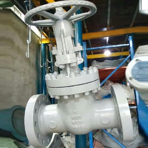 Gate Valve 6 inch 600LB RF A216 WCB Bolted Bonnet