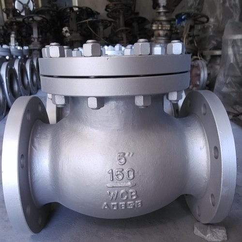 High Quality Check Valve 5 inch 150 LB RF BS1868 or API 6D