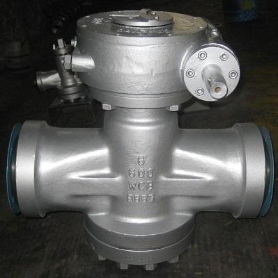 Inverted Pressure Balance Lubricated Plug Valve 6 inch 600 LB A216 WCB API 599