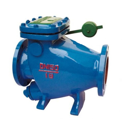 Low Resistance Dashpot Check Valve with Counter Weight DN150 PN16 WCB