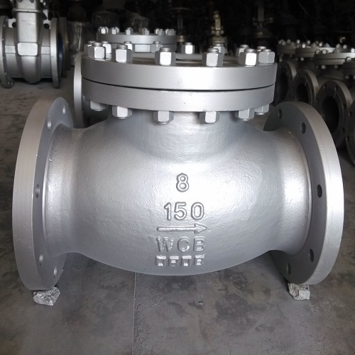 Non-Return Valve 8 inch 150 LB Swing Type RF BS 1863 / API 6D