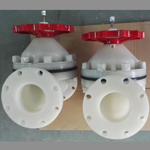 PVDF Diaphragm Valve 4 Inch 150 LB FF