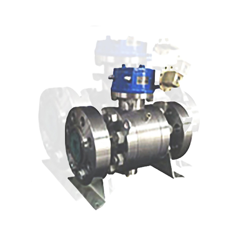 F347 Trunnion Ball Valve, Forged, API 6D, 14IN, CL1500, RTJ Flanged